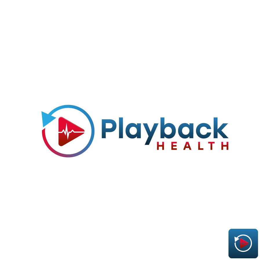 Logo for Playback Health, personal multimedia healthcare instructions app