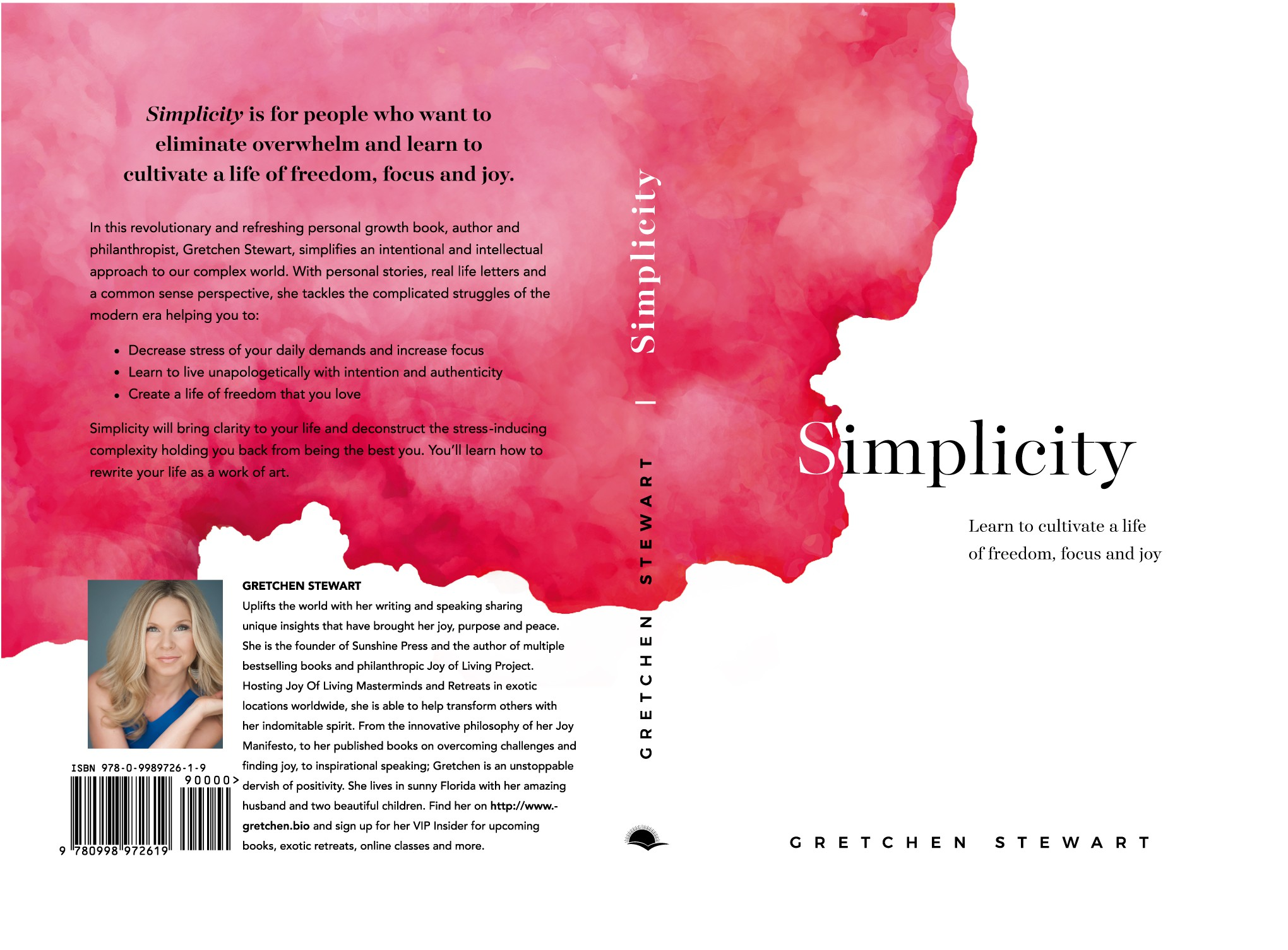 Design a bold, minimalistic, innovative and abstract cover for my book Simplicity