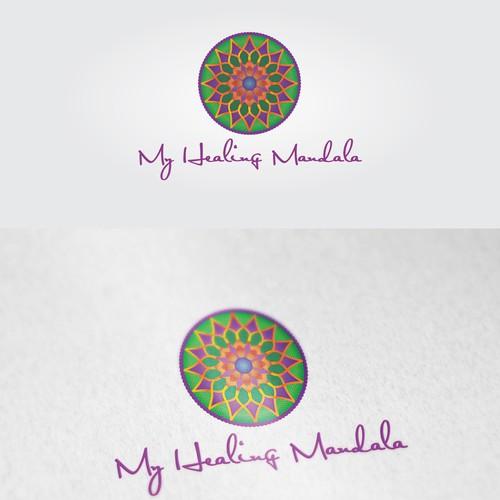 A Logo for My Healing Mandala / heilsames Logo ;-)