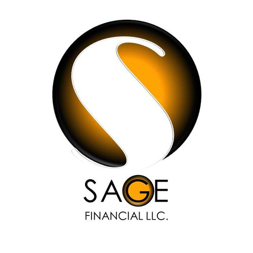 Create the next logo and business card for Sage Financial LLC