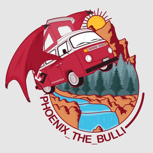 VW bus and adventure