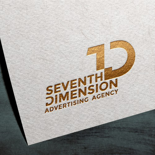 7D Logo design