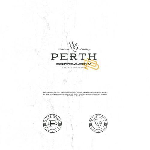Logo Design Entry for Perth Distillery