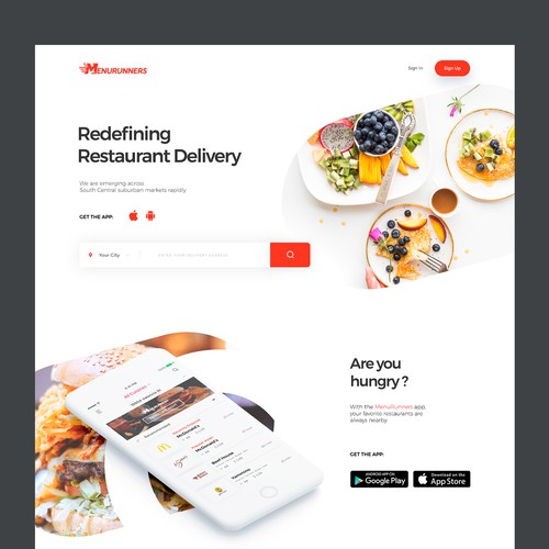 On-demand restaurant delivery service