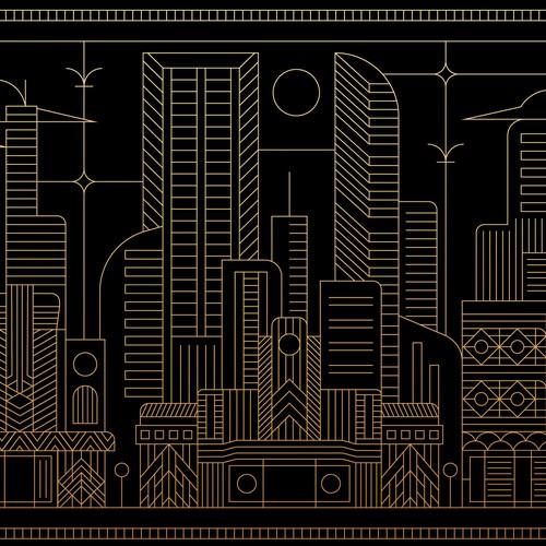 Artdeco Cityscape