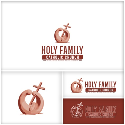 Logo for Holy Family Catholic Church