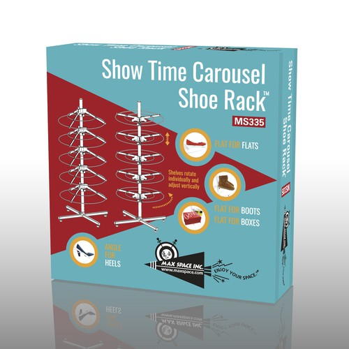 Pack for a new shoe rack