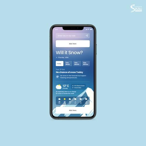 Snow Forecast App