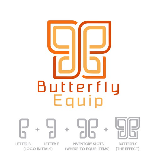 Logo Concept for Butterfly Equip