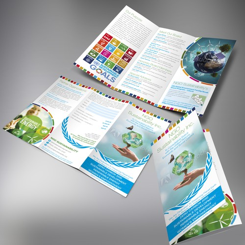 NGO Sustainability Inc. Trifold Brochure