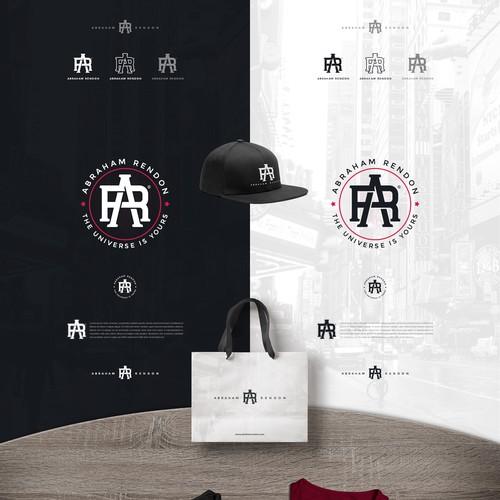 Abraham Rendon Monogram Logo Concept