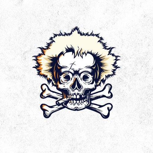 Rustic Jobu Pirate Skull