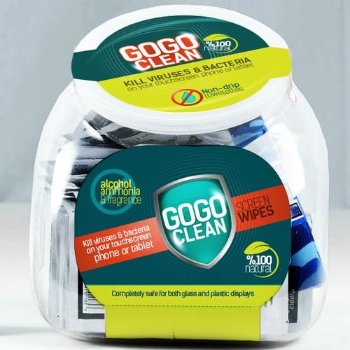 Packaging GOGO Clean