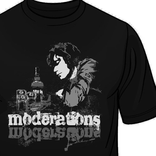t-shirt design for Moderations