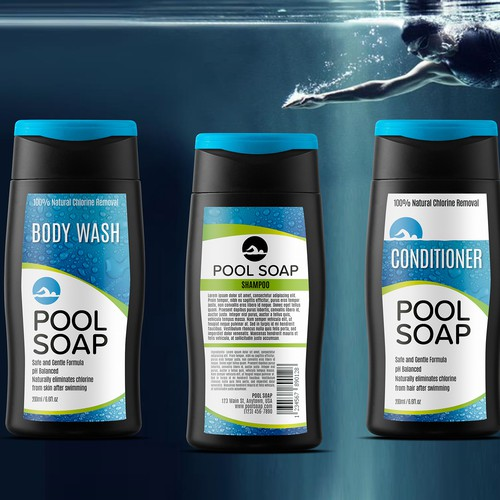 Sporty body products line.