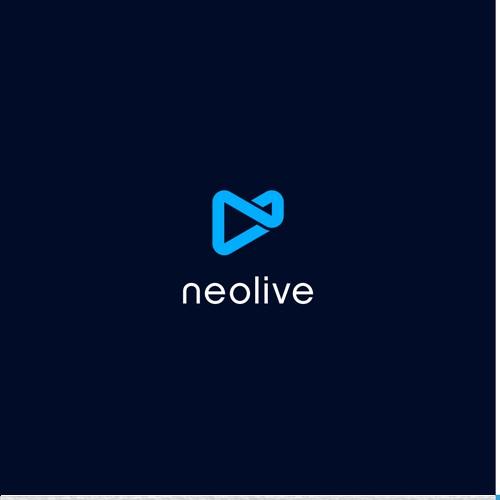 Logo design for a B2B live videos platform