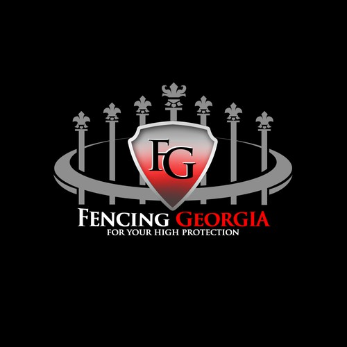 Logo for Fencing Company