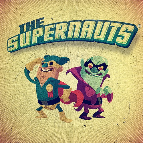 The Supernauts game needs a logo!