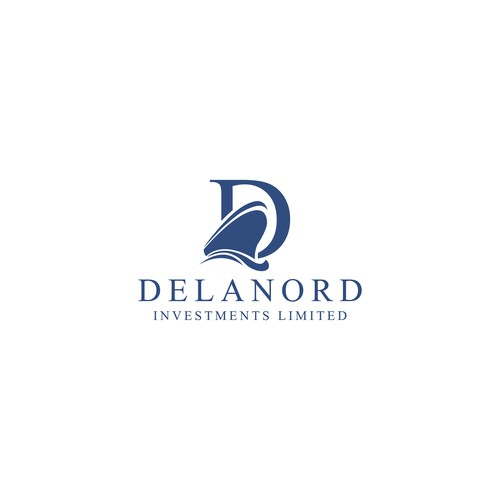 logo for investment company focusing mainly on port and shipping industry