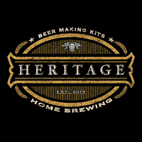 Heritage home brewing kits logo