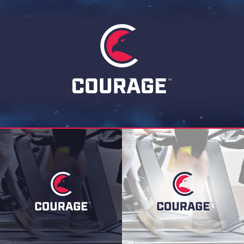 Logo for Courage Nutrition Supplements