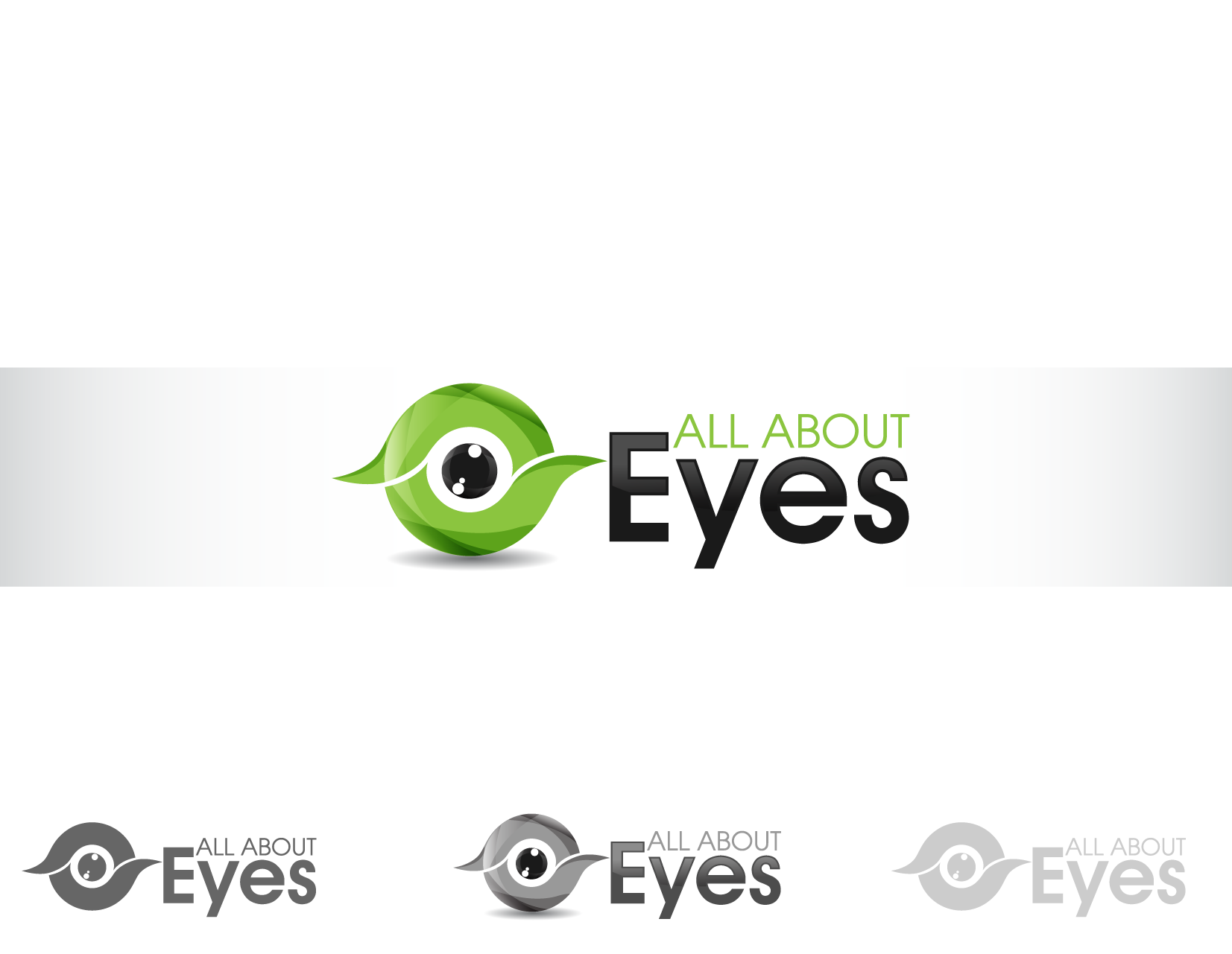 Create the next logo for All About Eyes