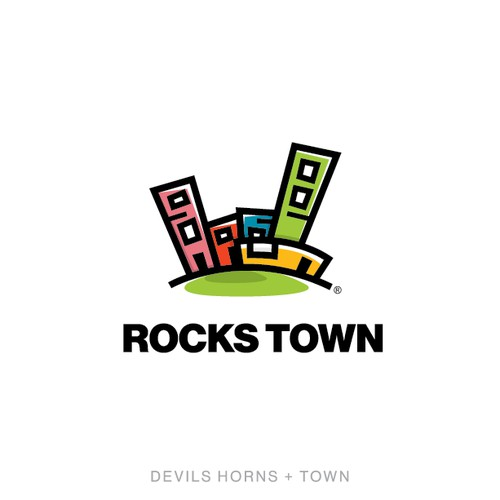 Branding and Stationary for Rocks Town