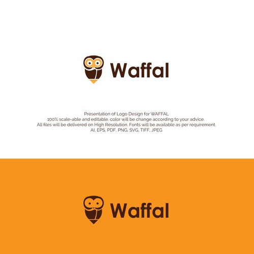 Logo Concept for waffal