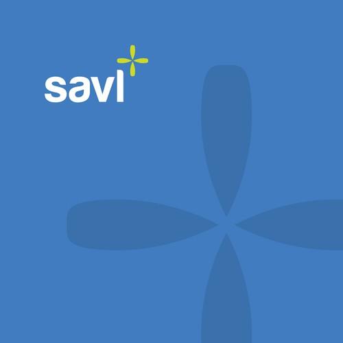 savl logo design