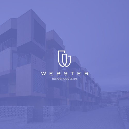 W + real estate logo