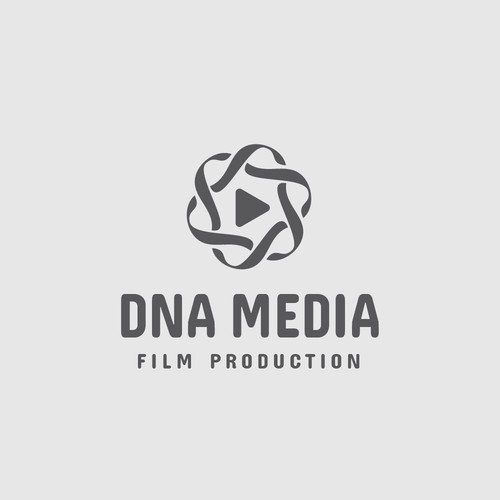 DNA MEDIA - logo design