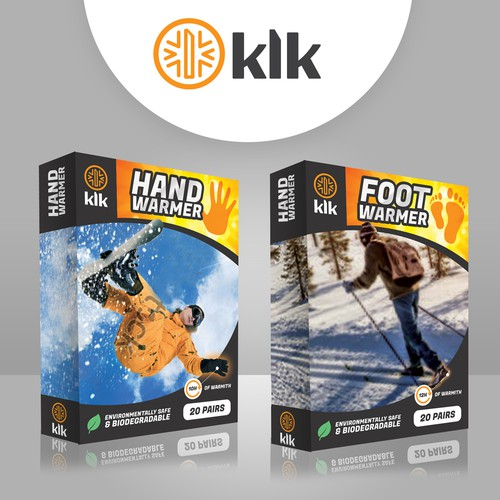 Guaranteed Prize- We need a catchy product package design and Logo(KLK).  Express Yourself