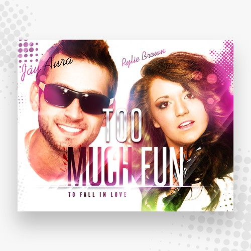 Create 2 pop music album covers for an X-Factor finalist