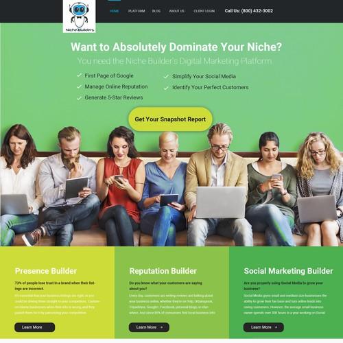 Niche Builder Home Page