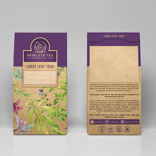 World of tea- Loose Leaf Teas