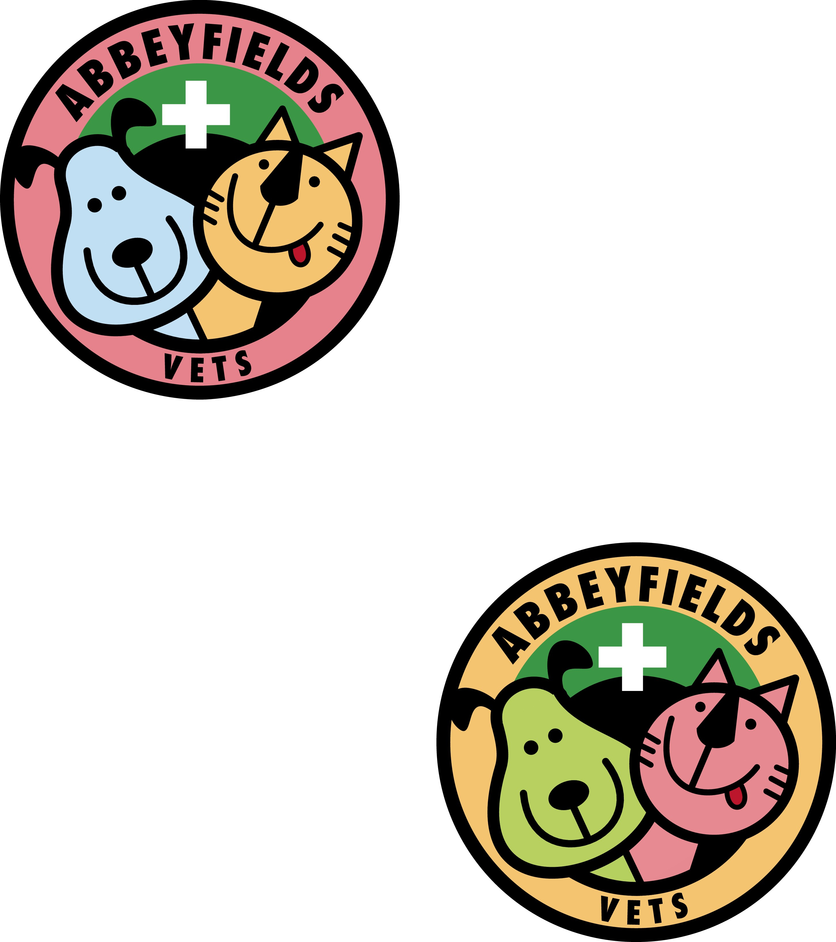 Create a Unique and Quirky   Veterinary Surgery logo reflecting personal care for Abbeyfields Vets