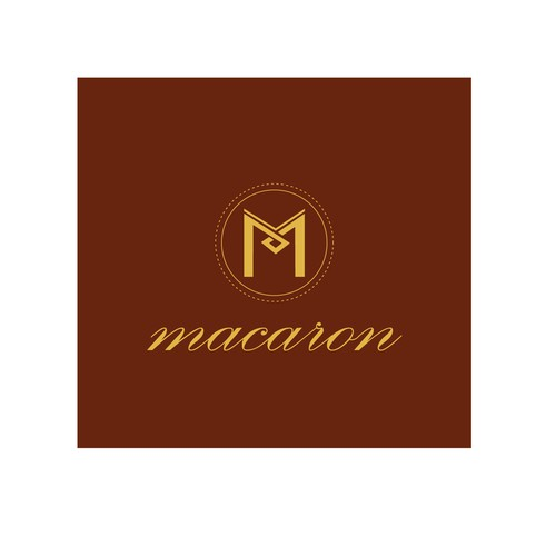 Elegant and retro confectionery logo