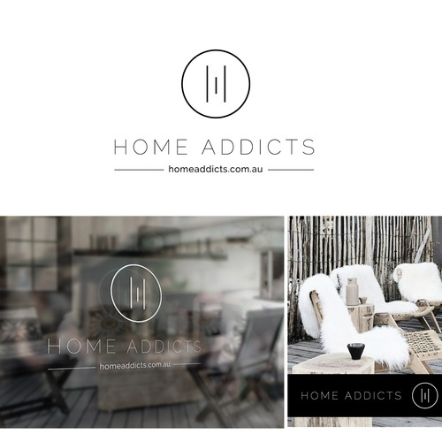 Creating a quirky brand for 'home addicts' boutique fashionable homeware online store