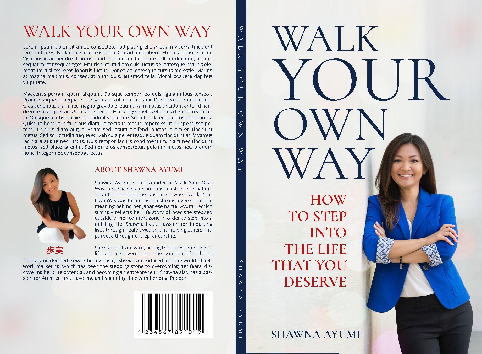 Strong Woman Entrepreneur - WALK YOUR OWN WAY