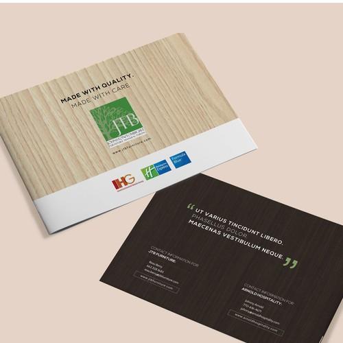 Brochure Design for JTB Furntiure