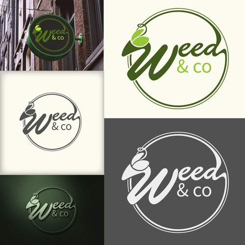 WEED & CO new product in the market CBD logo