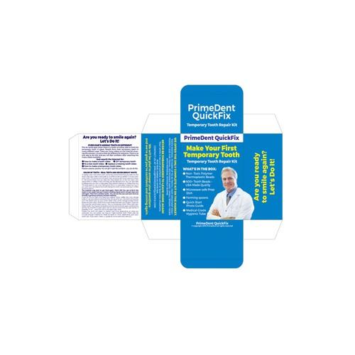 Packaging design for dental fix