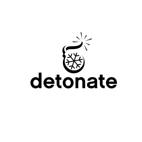 logo for entertainment news company (detonate.com)