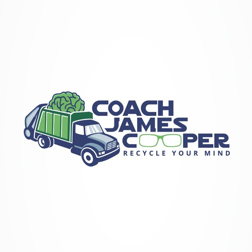 logo concept for Coach James Cooper