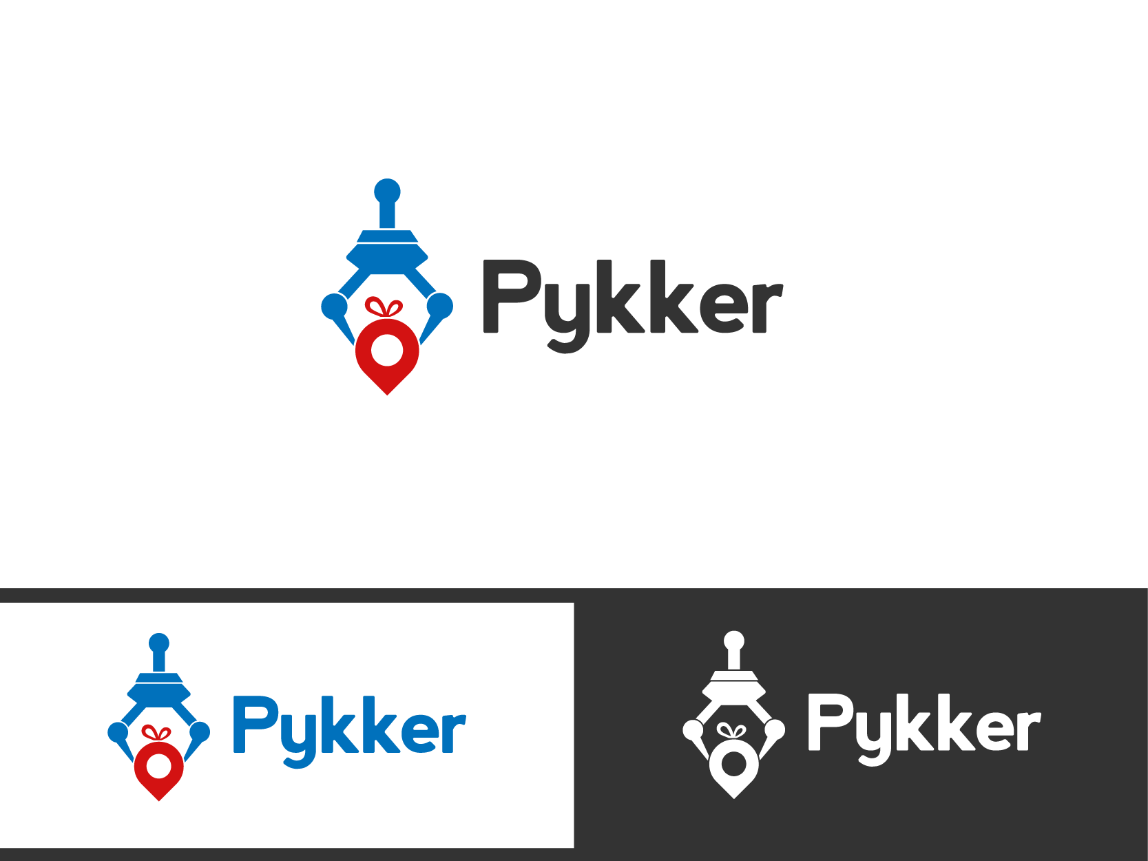 Create a unique logo for a location-based rewards application
