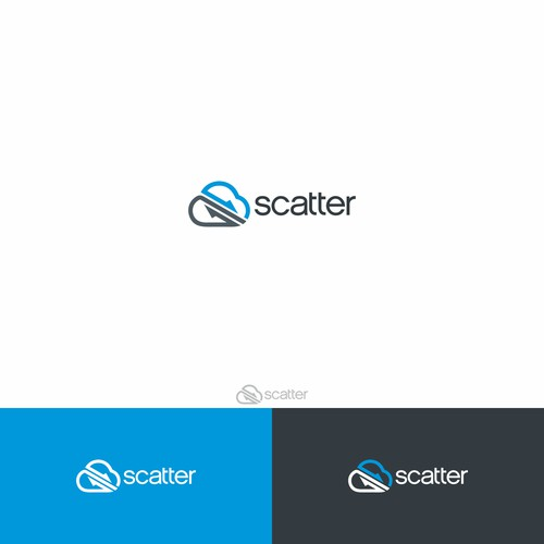 Create a privacy focused logo for Scatter, a cloud security company!