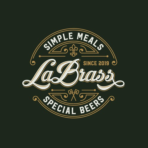 The logo for a brasserie.