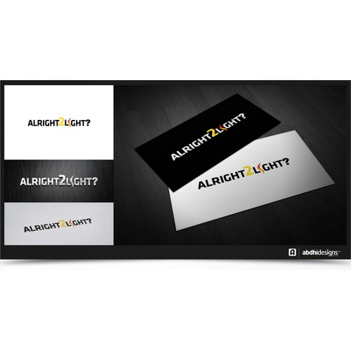 Help Alright2Light with a new logo
