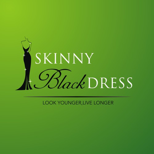Create  logo for skinnyblackdress