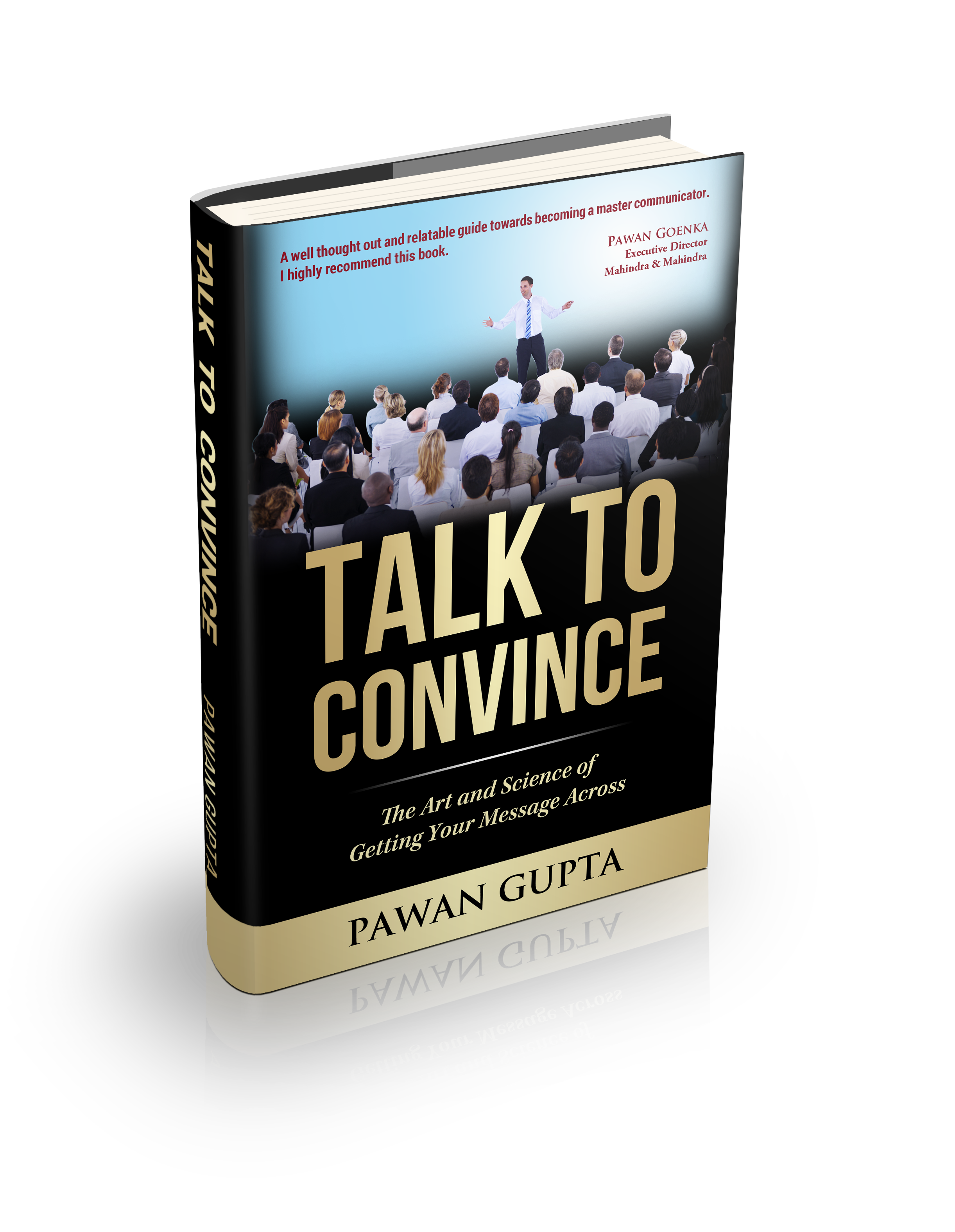 """Can your cover design """"Talk to Convince""""?"""